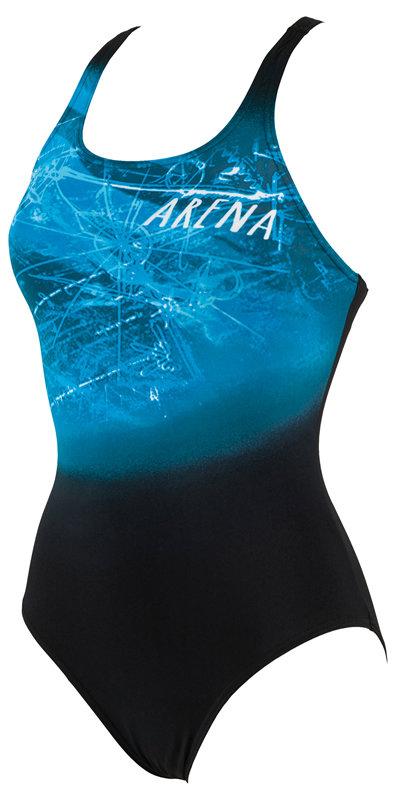 2639cda3cce ARENA W Drafty one piece černá - Arena shop - plavky a příslušenství ...