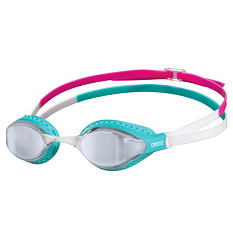 AIR-SPEED MIRROR SILVER-TURQUOISE-MULTI