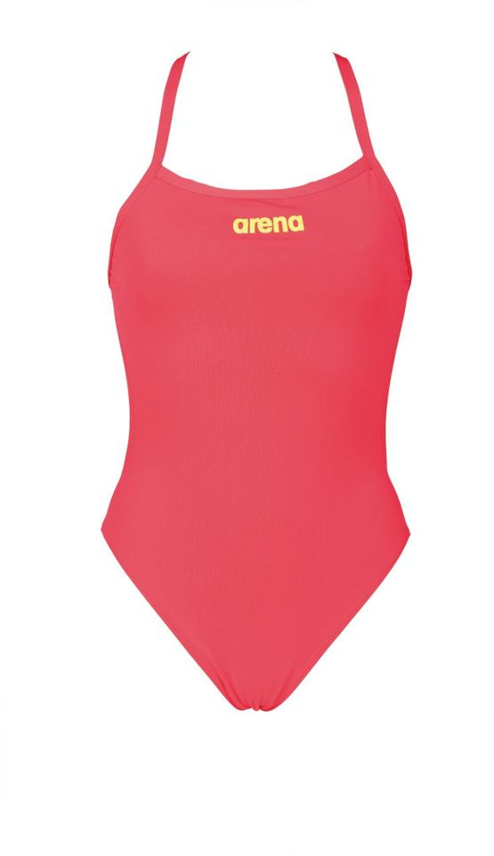 476ff3fe2 arena W Solid light tech high zářivě jahodová - Arena shop - plavky ...