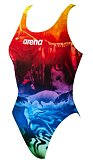 arena W Swim tech high Phantasy prints barevné